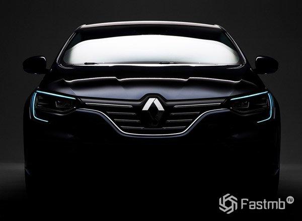 2016 Renault Megane, вид спереди