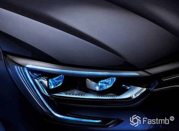 2016 Renault Megane, передние фары
