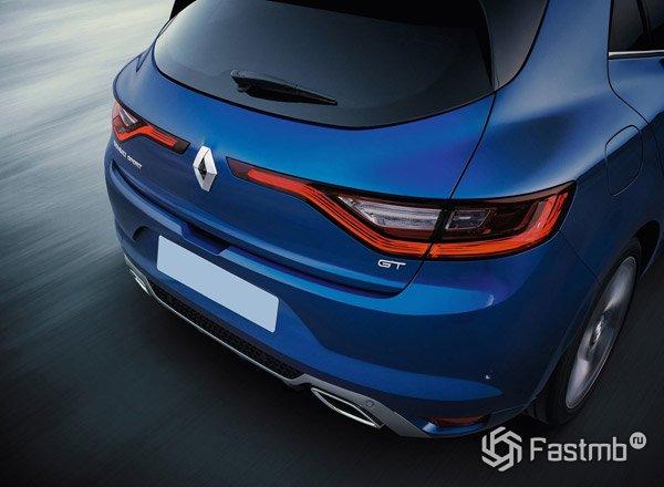 2016 Renault Megane, вид сзади