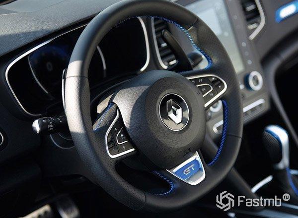 2016 Renault Megane, руль
