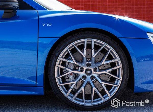 Колеса Audi R8 2017