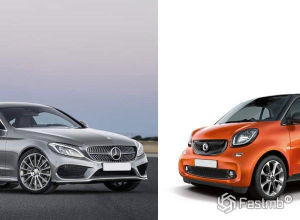 Дебют Smart и Mercedes в Киеве