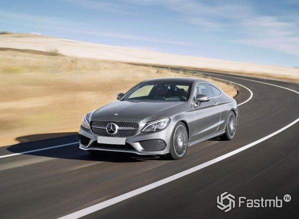 Новый Mercedes C-Class Coupe