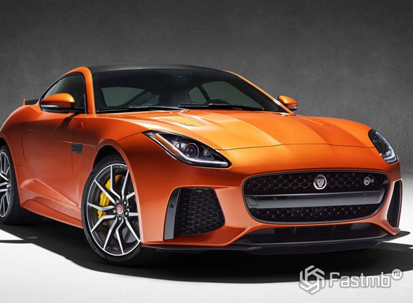Новый Jaguar F-Type SVR