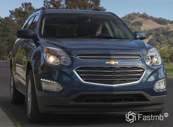 Chevrolet Equinox 2016, вид спереди