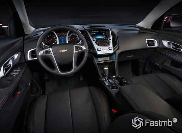 Передняя панель Chevrolet Equinox 2016