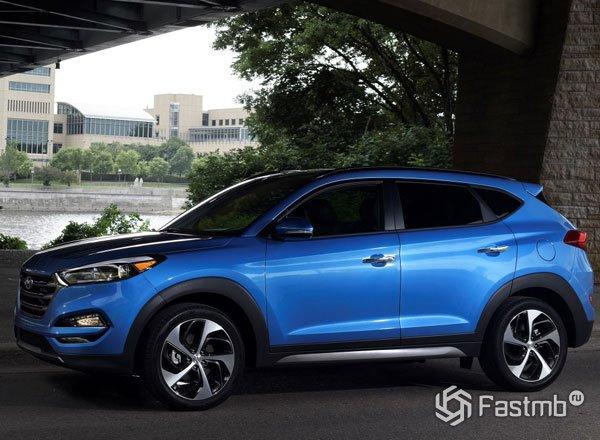 2016 Hyundai Tucson, третье поколение кроссовера