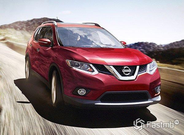 Nissan Rogue 2016, вид спереди