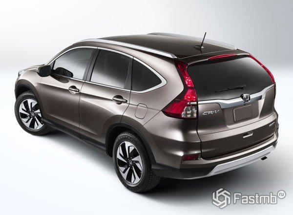 Honda CR-V 2016, вид сбоку