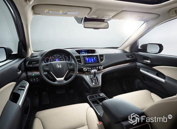 Интерьер нового Хонда CR-V 2016