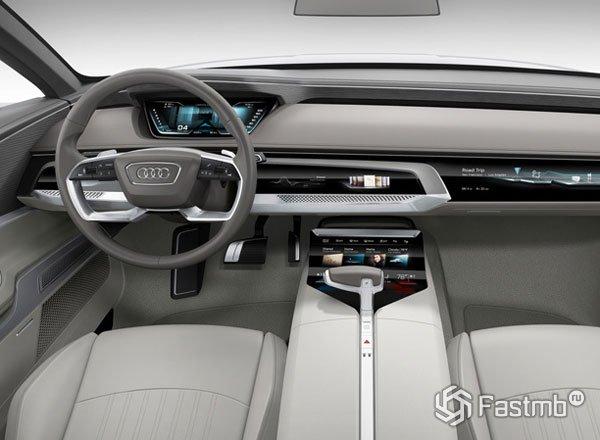 Передняя панель Audi A9 prologue