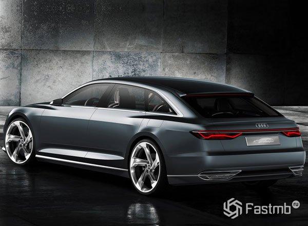 Audi A9 Prologue Avant, вид сзади