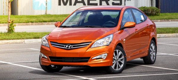 Hyundai Solaris 2015-2016