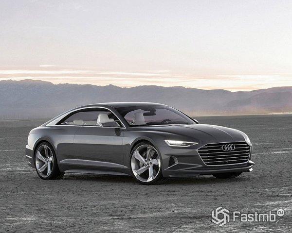Новый концепт Audi A9 Prologue