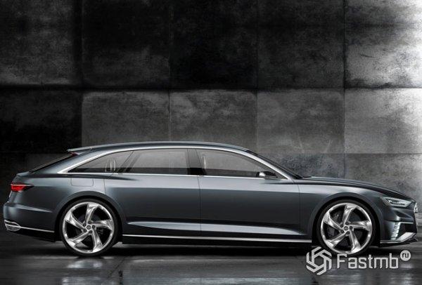 Audi A9 Prologue Avant, вид сбоку