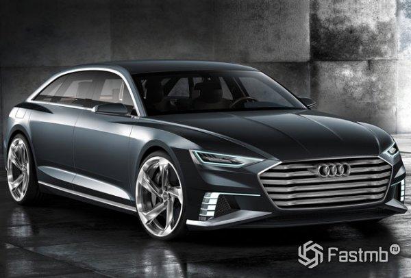 Audi A9 Prologue Avant, вид спереди