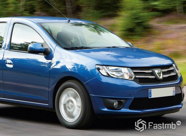 Dacia Sandero, вид сбоку
