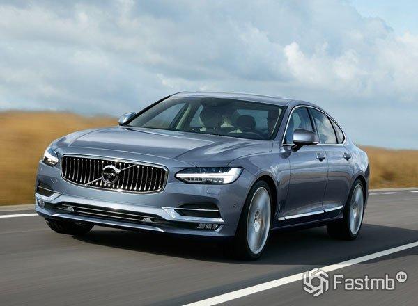 Новый Volvo S90
