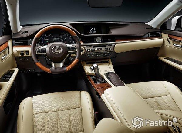 Передняя панель Lexus ES 250 2016