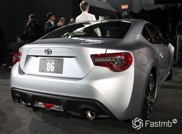 Задняя оптика Toyota 86
