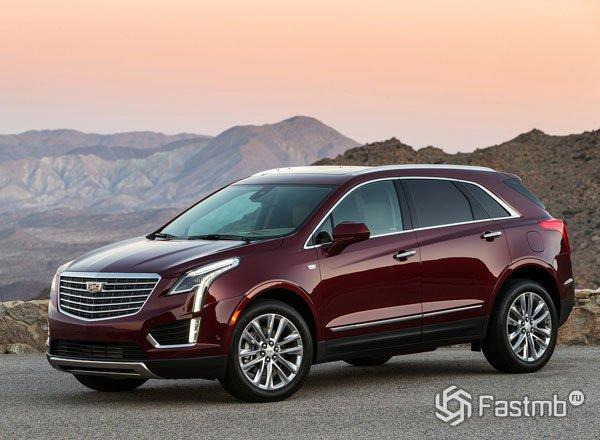 Новый внедорожник от Cadillac