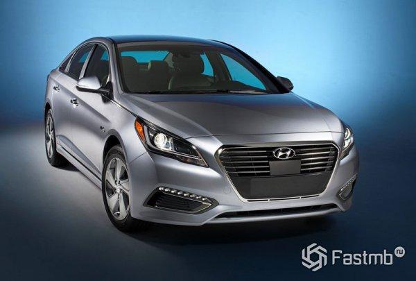 Новый Hyundai Sonata Hybrid 2016
