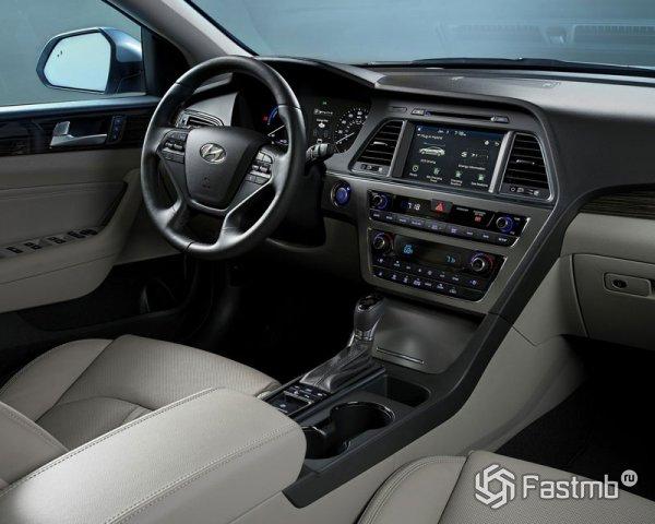 Передняя панель Hyundai Sonata Hybrid
