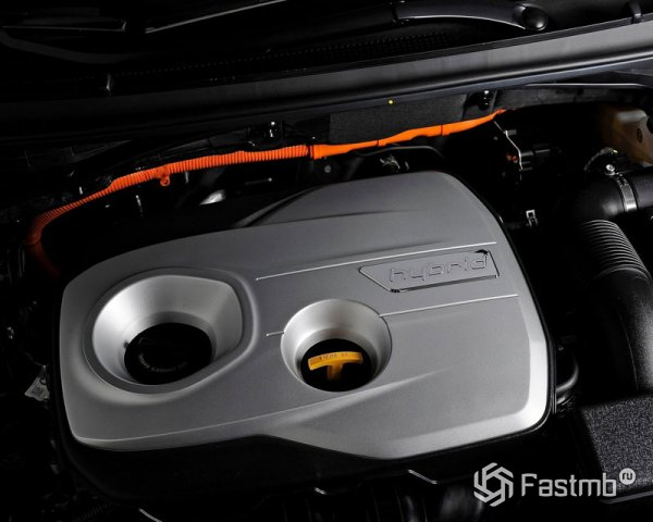 Гибридный двигатель Hyundai Sonata
