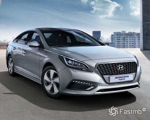 Новый Hyundai Sonata Hybrid