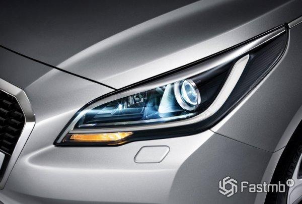 Передняя оптика Sonata Hybrid