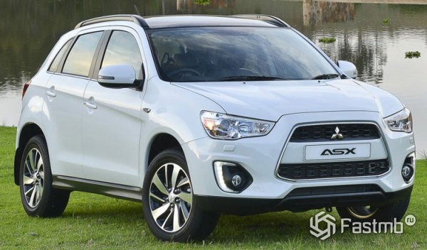 Mitsubishi ASX, вид спереди