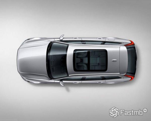 Панорамная крыша Volvo V90