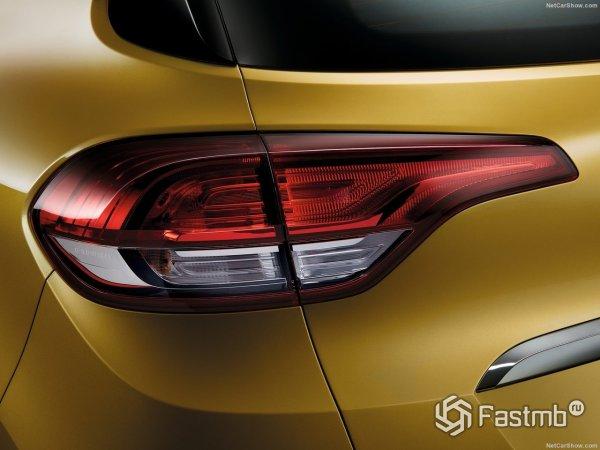 Renault Scenic- левые задние фары