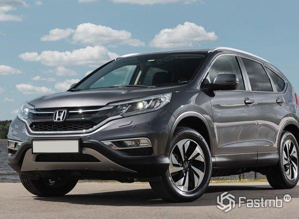 Новый Honda CR-V 2016