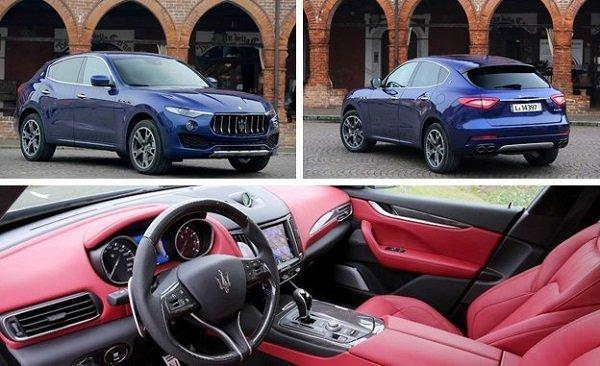 Стала известна цена Maserati Levante на Украине