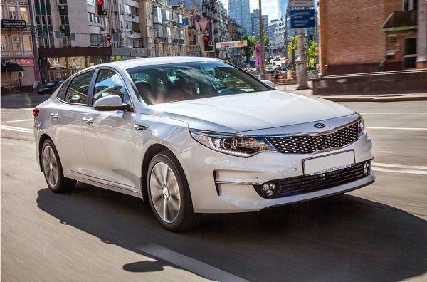 В Украине стартовали продажи нового Kia Optima