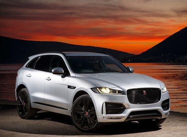 Новый Jaguar F-Pace уже в России