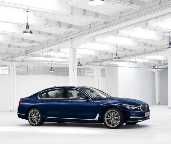 Седан BMW 7-Series к столетию со дня основания компании