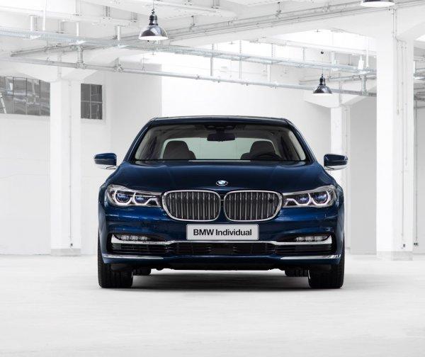 BMW 7-Series лимит версия