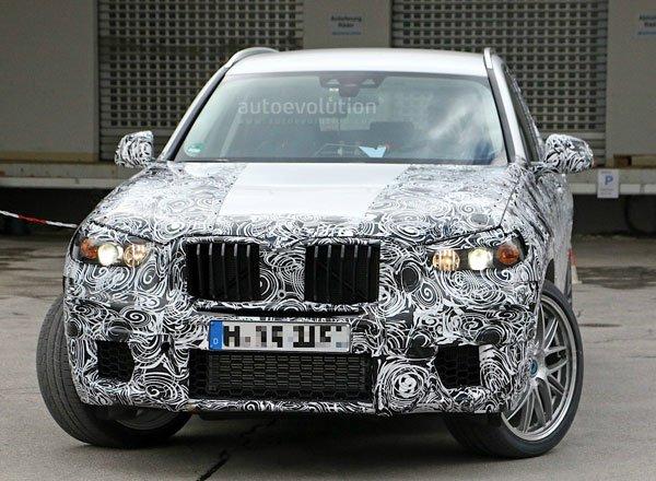 Заряженный BMW X3 M
