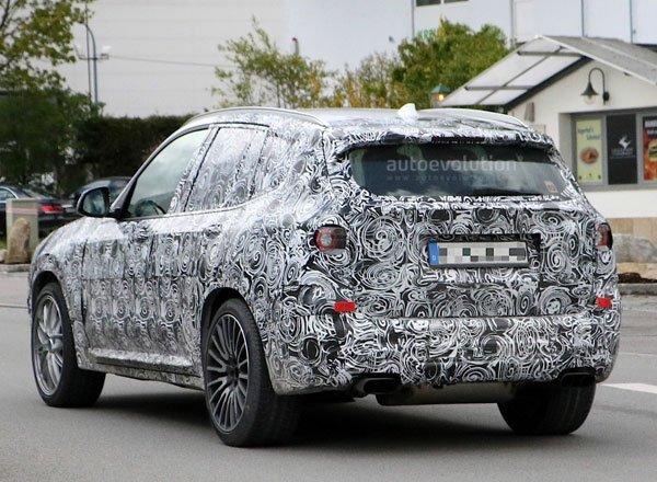 Задняя оптика BMW X3 M