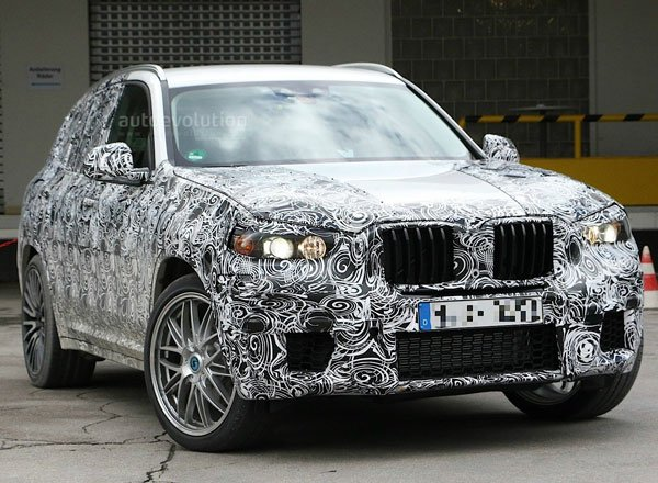 BMW X3 M, вид спереди