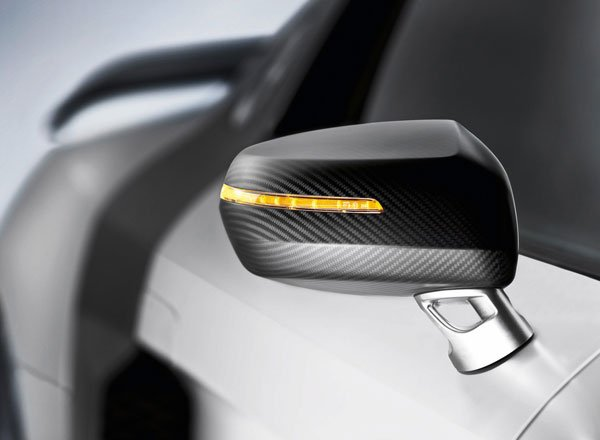 Боковое зеркало 2010 Audi R8 GT