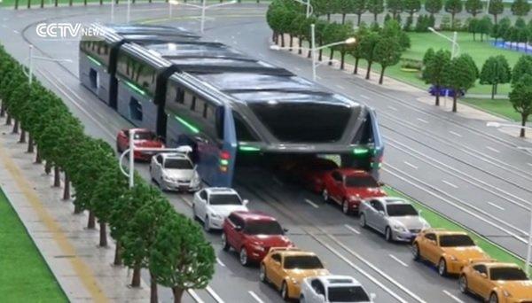 В Китае представили новый вид городского транспорта (видео)