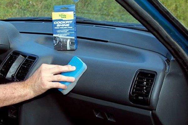Полироль для авто панели своими руками
