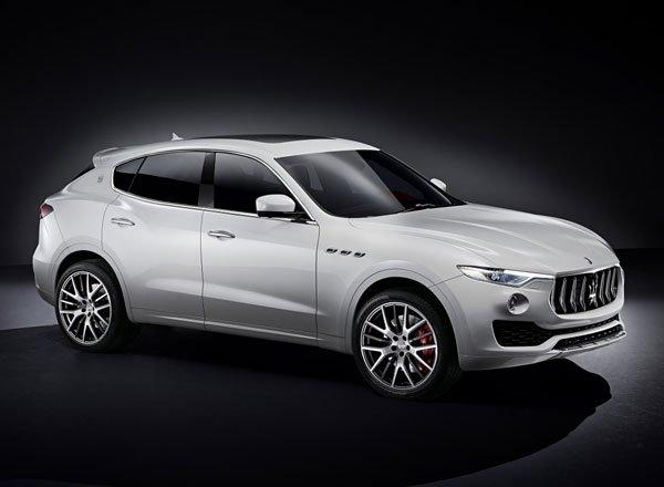 Новый Maserati Levante