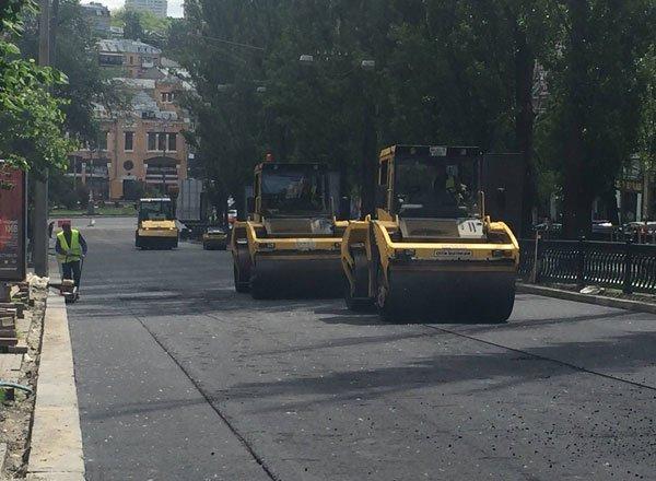 Запрет на ремонт дорог в дневное время
