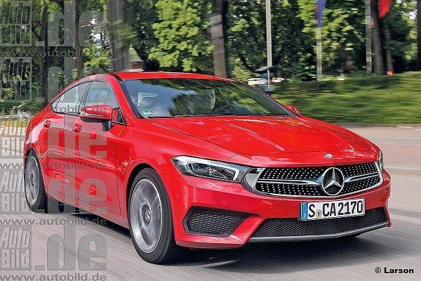 Появилась новая информация об обновленном Mercedes-Benz CLA