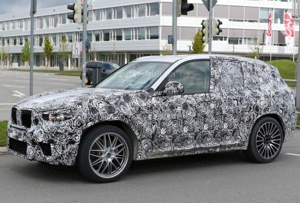 Новые формы BMW X3 M