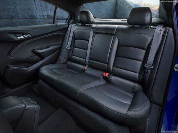 Новый Chevrolet Cruze, сидения